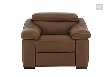 Sanremo Leather Recliner Armchair  in {$variationvalue}  on FV