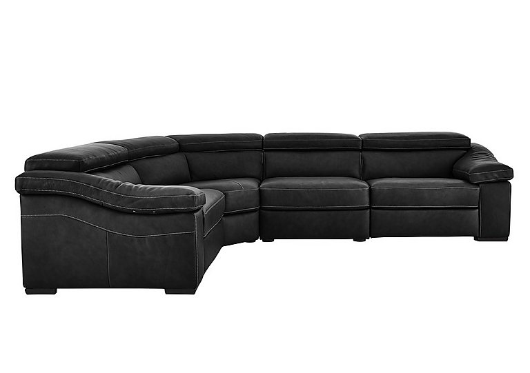 Sanremo Leather Corner Recliner Sofa