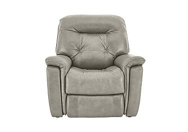 Seattle Leather Recliner Armchair - Only One Left! in Nc-946b Feather Grey on FV
