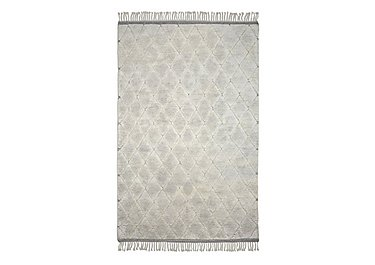 Diamond Rug in Cream on FV