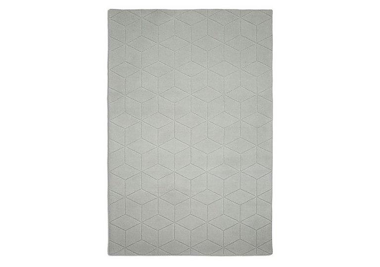 Wool Grecian Rug in Grey on Furniture Village