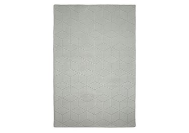 Wool Grecian Rug in Grey on FV