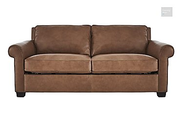 Campania 3 Seater Leather Sofa Bed  in {$variationvalue}  on FV