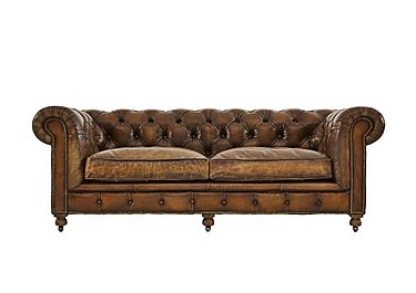 Kingston Mews 2.5 Seater Leather Sofa  in {$variationvalue}  on FV