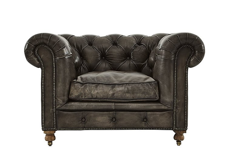Kingston Mews Leather Armchair