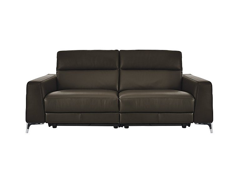Livorno 2 Seater Leather Recliner Sofa