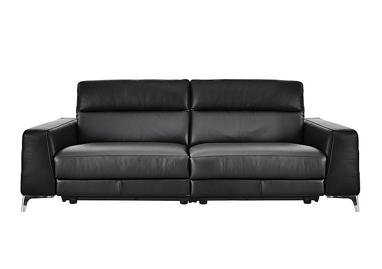 Livorno 3 Seater Leather Recliner Sofa