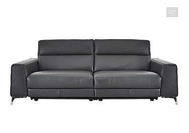 Livorno 3 Seater Leather Recliner Sofa  in {$variationvalue}  on FV