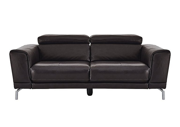 Calabria 3 Seater Leather Sofa  in {$variationvalue}  on FV