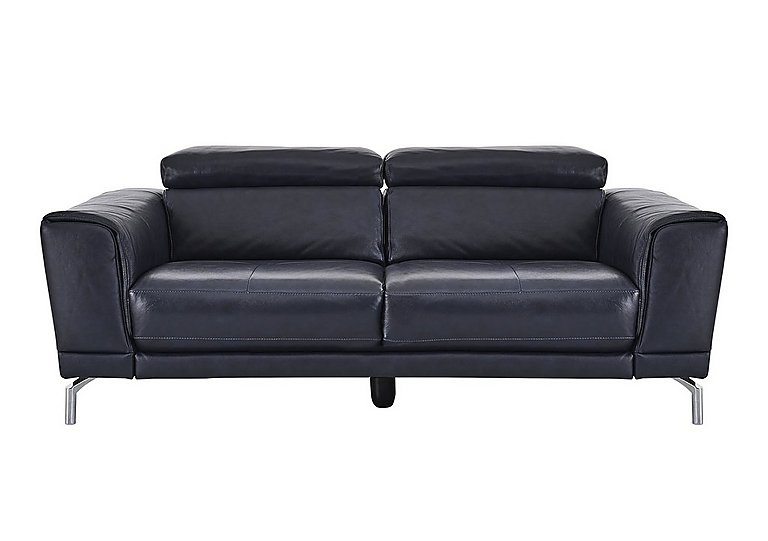 Calabria 3 Seater Leather Sofa
