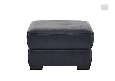 Calabria Leather Footstool  in {$variationvalue}  on FV