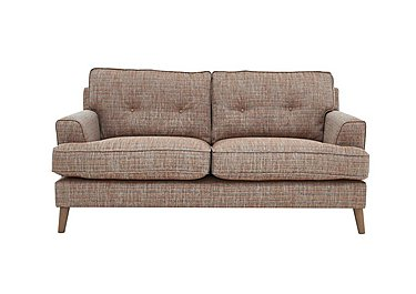 Line 2 Seater Fabric Sofa in Carlo Multi Col 7 Hoxton on FV