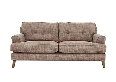 Line 2.5 Seater Fabric Sofa in Carlo Multi Col 7 Hoxton on FV