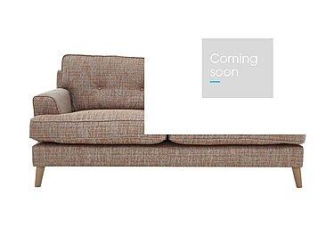 Line 2.5 Seater Fabric Sofa in Carlo Multi Lt Col 2 Light on FV