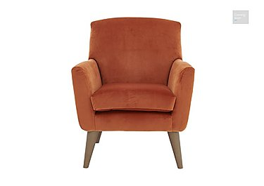 Line Fabric Accent Armchair  in {$variationvalue}  on FV
