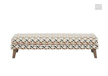 Line Fabric Footstool  in {$variationvalue}  on FV