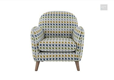 City Loft Fabric Accent Armchair  in {$variationvalue}  on FV