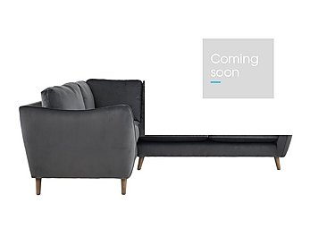 City Loft Fabric Corner Sofa in Capri Pewter Hox Col 7 on FV