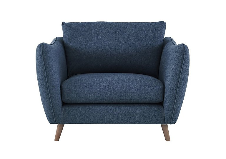 City Loft Fabric Snuggler Armchair