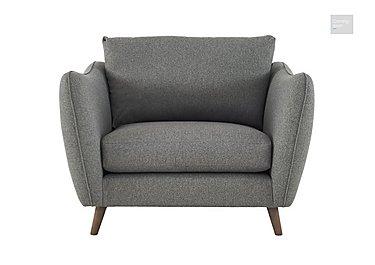 City Loft Fabric Snuggler Armchair  in {$variationvalue}  on FV