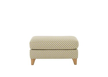 Novara Footstool in N302 on Furniture Village