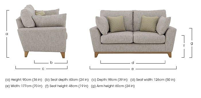 Novara Medium Sofa in  on FV