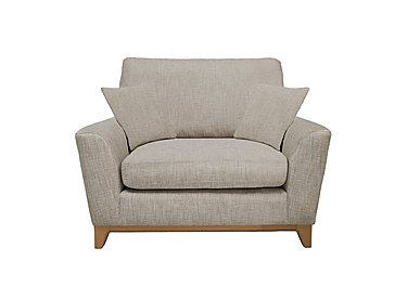 Novara Snuggler Chair in N106 on Furniture Village