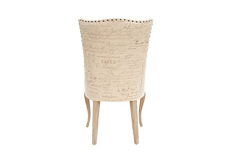 Revival Barcelona Chair in Script / Natural on FV