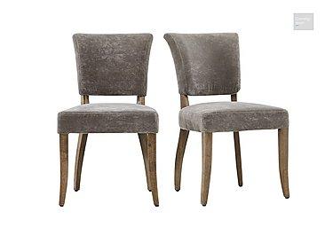Barbican Moleskin Dining Chair Pair  in {$variationvalue}  on FV