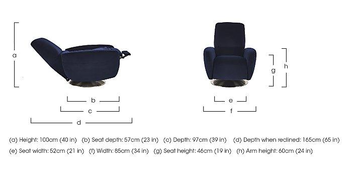 Bari Fabric Armchair in  on FV
