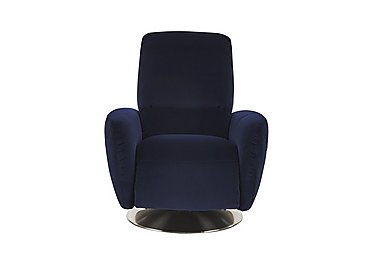 Bari Fabric Armchair in Brezza 70207704 Dark Blue on FV