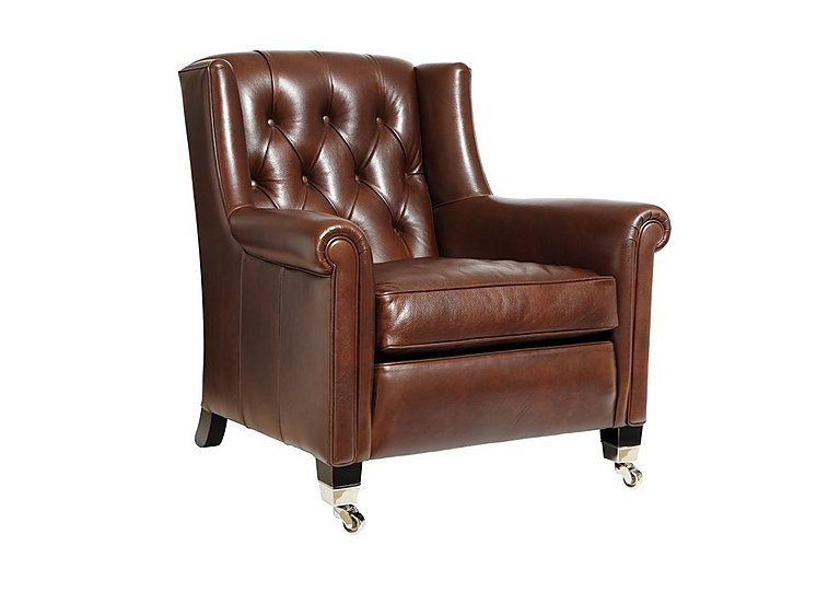 Sunday Gents Armchair in Clyde Cognac on FV