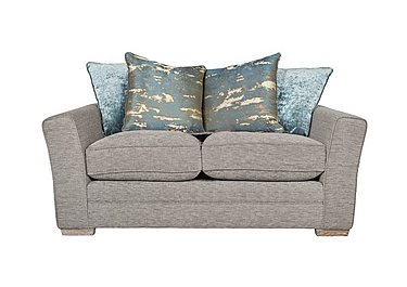 Ashridge 2 Seater Fabric Sofa in Stone Slate Brad Marble Lo Ft on FV