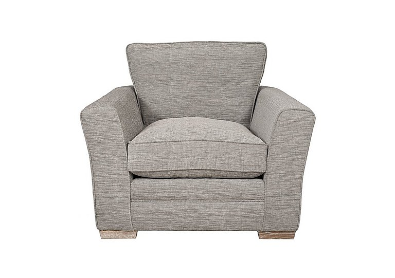 Ashridge Fabric Armchair in Cavolo Plain Stone Lo Ft on FV