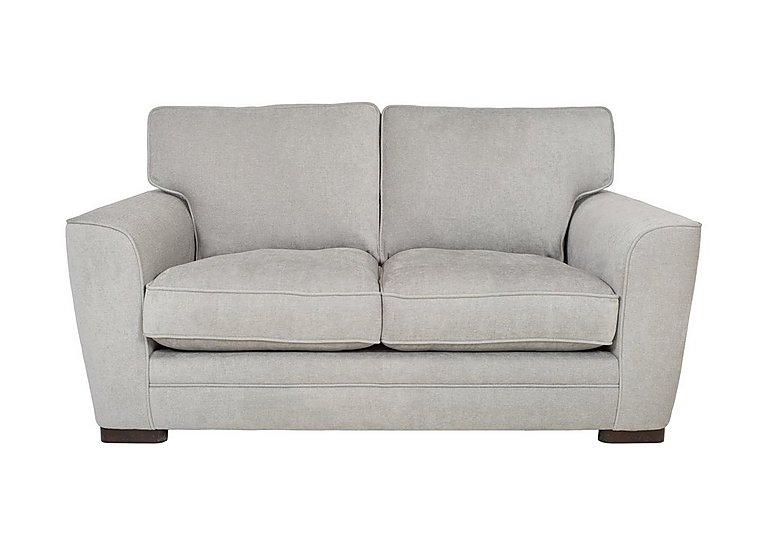 Wilton 2 Seater Fabric Sofa in Fusion Plain Steel Dk Ft on FV