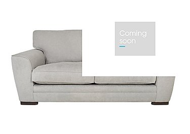 Wilton 3 Seater Fabric Sofa in Fusion Plain Steel Dk Ft on FV