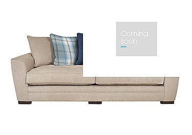 Wilton 4 Seater Fabric Sofa in Pebble Midnight Balm Sky Dk Ft on FV