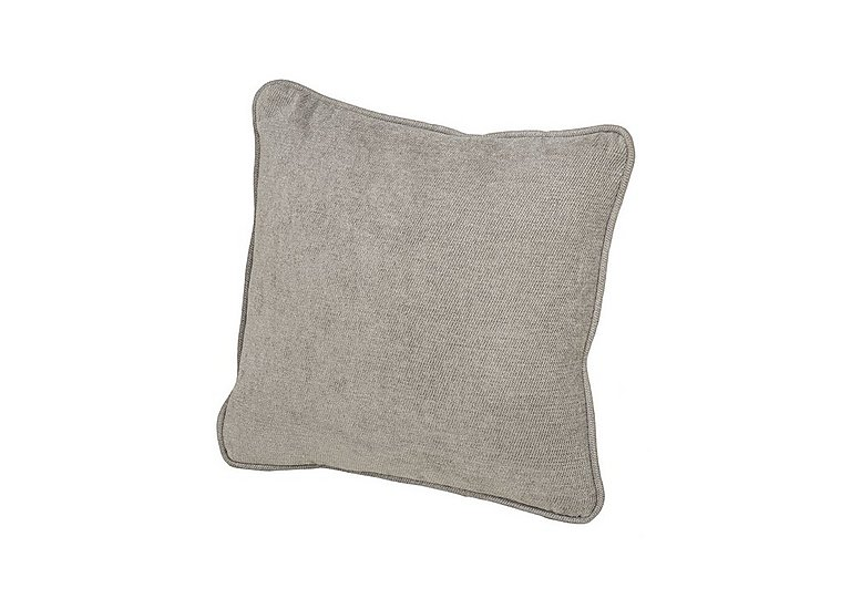Wilton Fabric Scatter Cushion in Fusion Plain Steel on FV