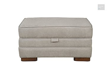 Wilton Small Fabric Storage Footstool  in {$variationvalue}  on FV