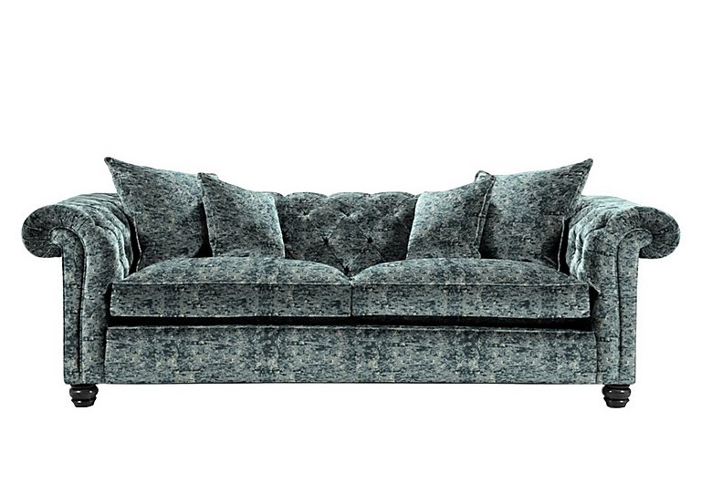 Curzon 4 Seater Fabric Sofa