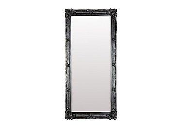 Abbey Leaner Mirror in Black on FV