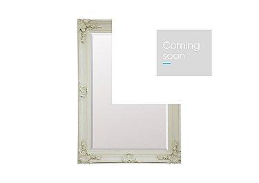 Abbey Rectangular Mirror in Cream on FV
