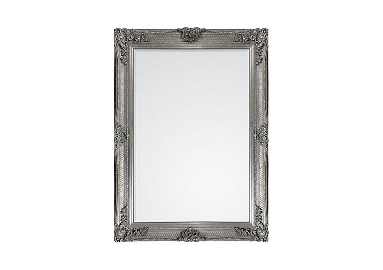 Abbey Mirror in Silver on Furniture Village
