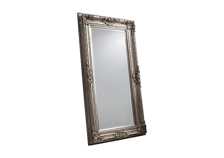 Valois Mirror in Silver on Furniture Village