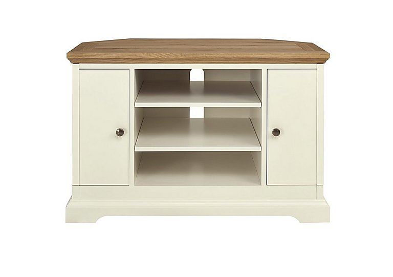 Compton Oak Corner TV Unit