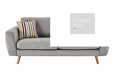 Jenson Large 2 Seater Fabric Sofa - Only One Left! in Grd-05 Dim Grey Graceland on FV