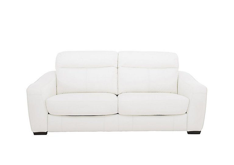 Cressida 3 Seater Leather Sofa Bed - Only One Left!