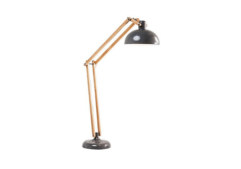 Work Station Floor Lamp in Grey on FV