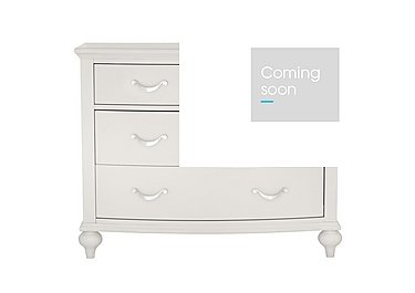 Annecy 2+2 Drawer Chest in Soft Grey on FV