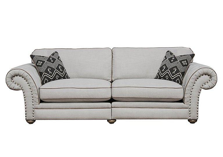 Langar 4 Seater Fabric Sofa